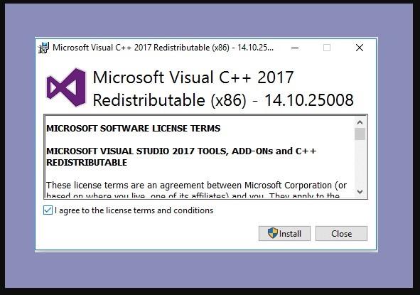 Install Visual Credits